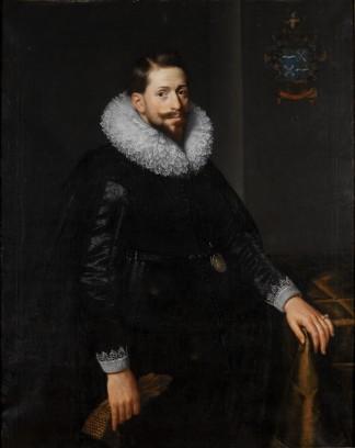 Nog een portret van Anthony van Hilten, door Paulus Moreelse, 1625