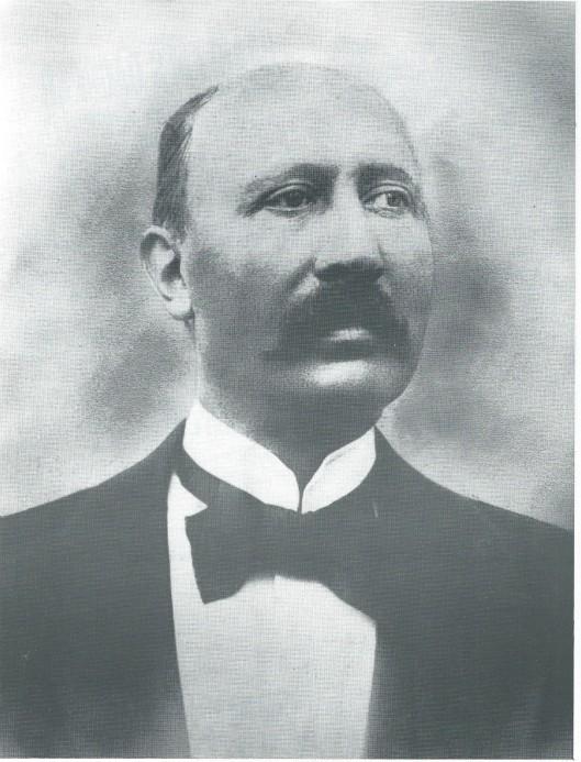 Portret van J.M.Bomans, dat jarenlang hing in de burelen van het Haarlems Dagblad in de Grote Houtstraat.