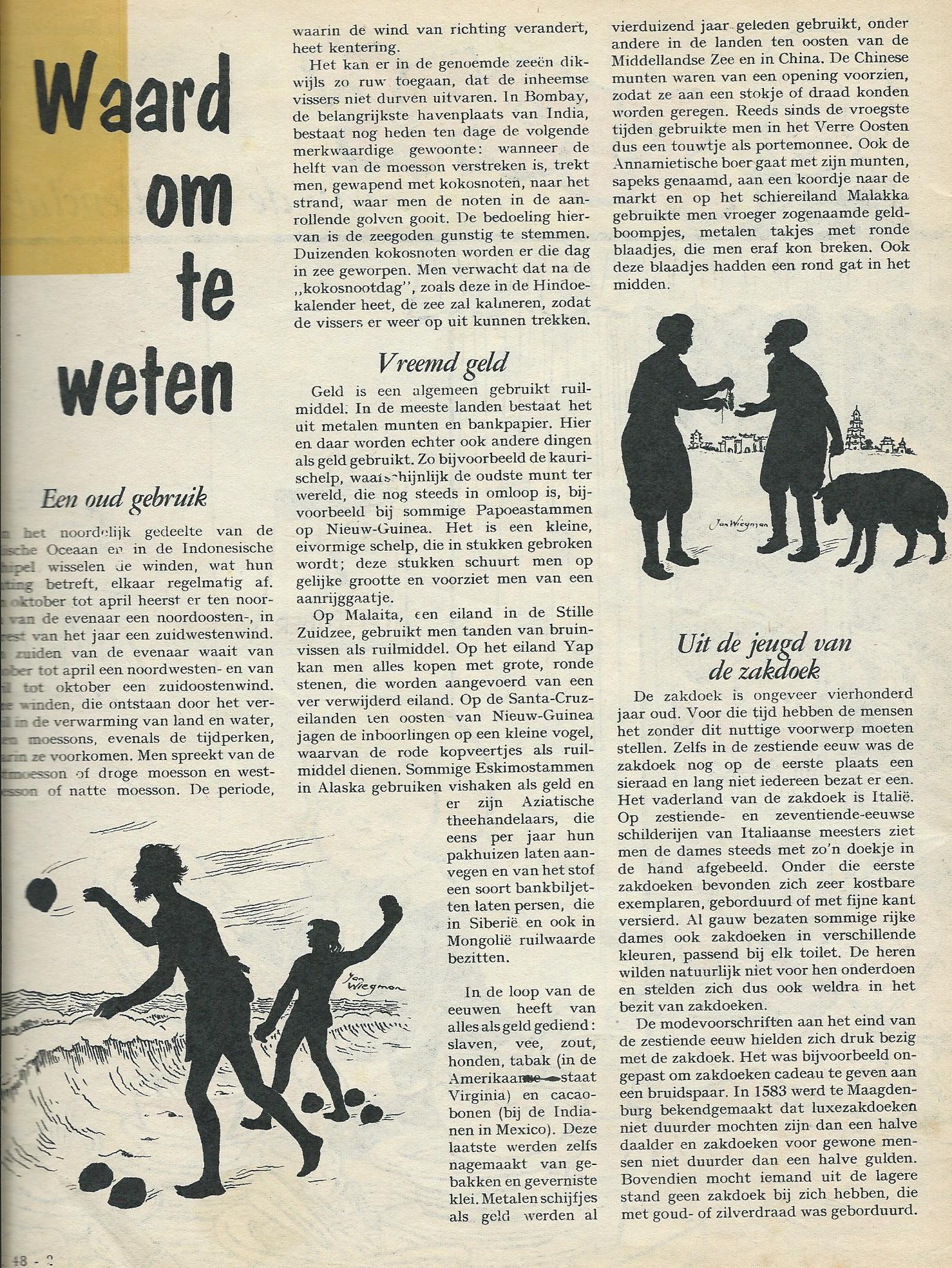 Ill. van Jan Wiegman, uit: Sjors van de Rebellenclub van 2 december 1961.