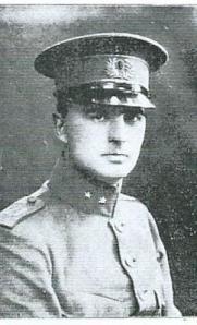 J.B.Bomans als luitenant