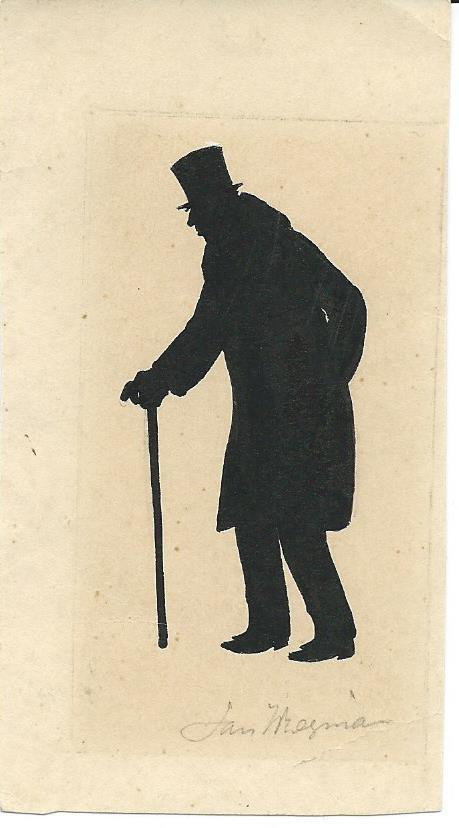 Jan Wiegman: silhouet