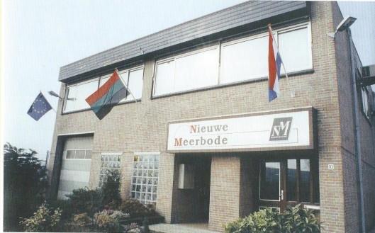 De tegenwoordige huisvesting van De Nieuwe Meerbode is op 11 april 1991 officieel geopend.