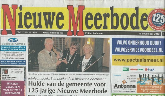 Kop van Nieuwe Meerbode, 18 december 2013