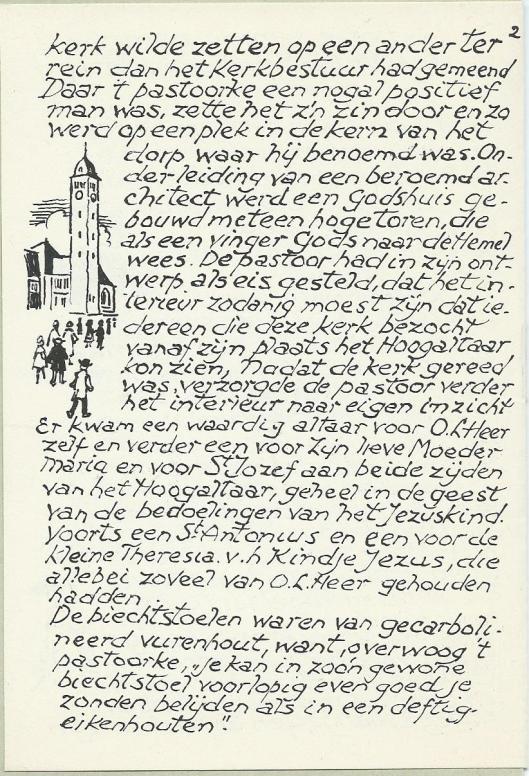 Vervolg historie kerk, pagina 2