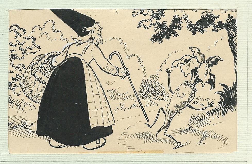 Tekening door Jan Wiegman