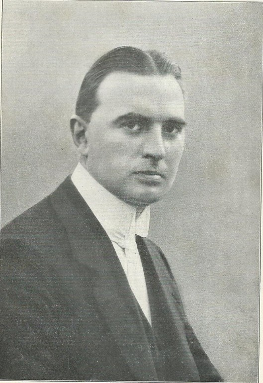 Foto van mr.J.B.Bomans uit 1924