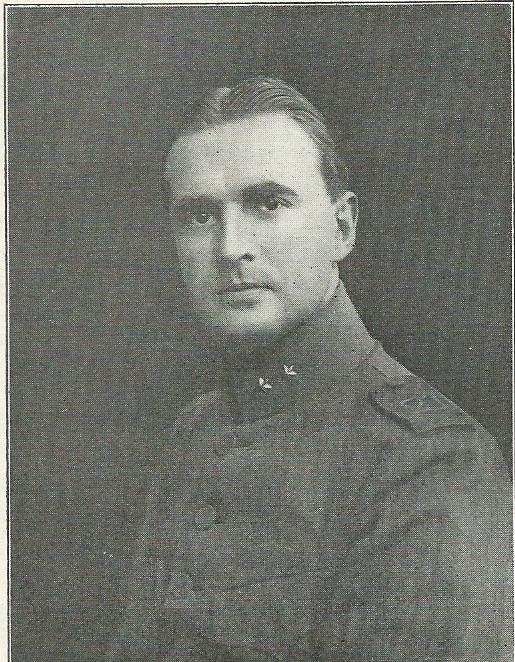 Mr.J.B.Bomans als militie-officier tijdens de mobilisatie