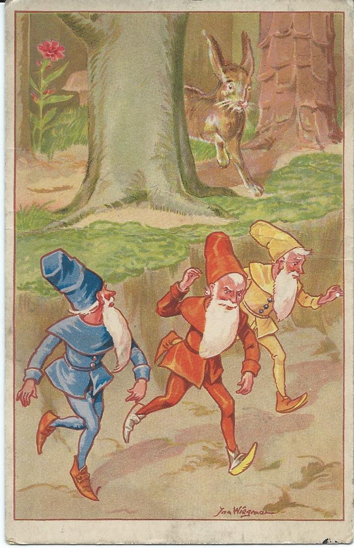 Ansichtkaart Jan Wiegman