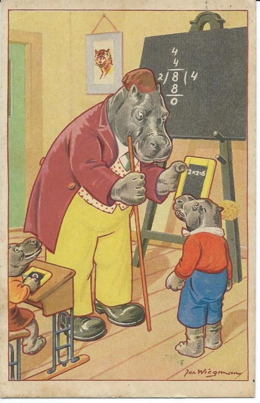 Jan Wiegman: de domme leerling