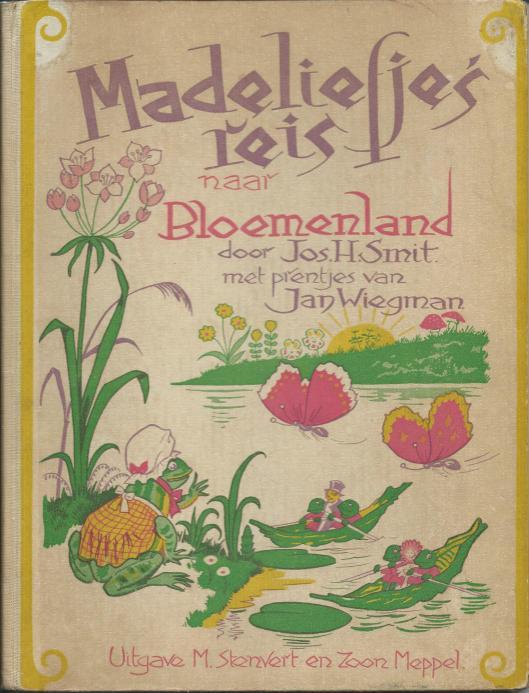Jan Wiegman, ill. bij 'Madeliejes reis naar Bloemenlamd'