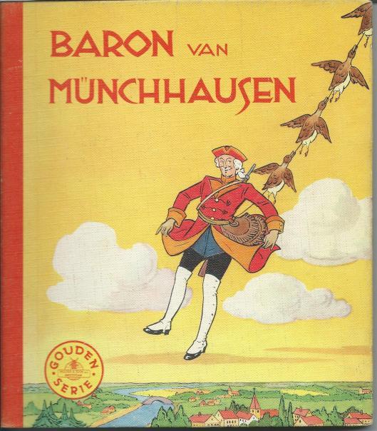 Jan Wiegman, ill. bij 'Baron van Münchhausen'