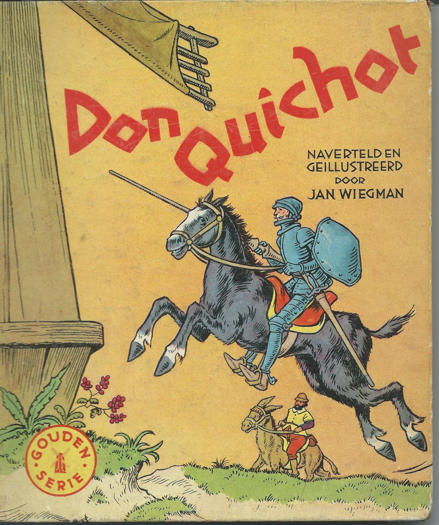 Don Quichot, naverteld en geïllustreerd door Jan Wiegman
