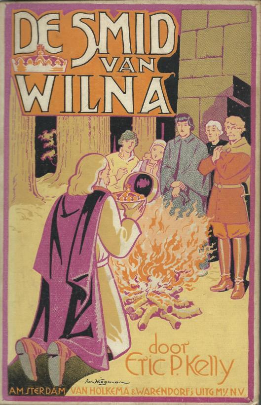 Jan Wiegman, ill. bij 'De smid van Wilna' door Eric P.Kelly