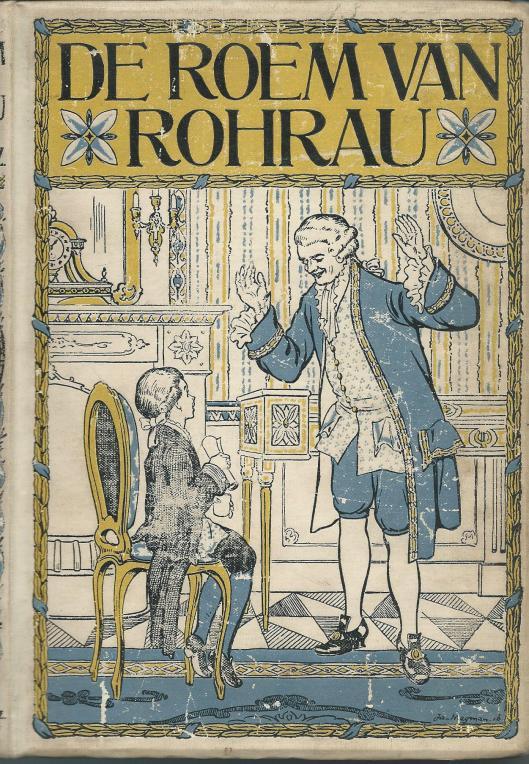Jan Wiegman, ill. bij 'De roem van Rohrau; door S.Abramsz.