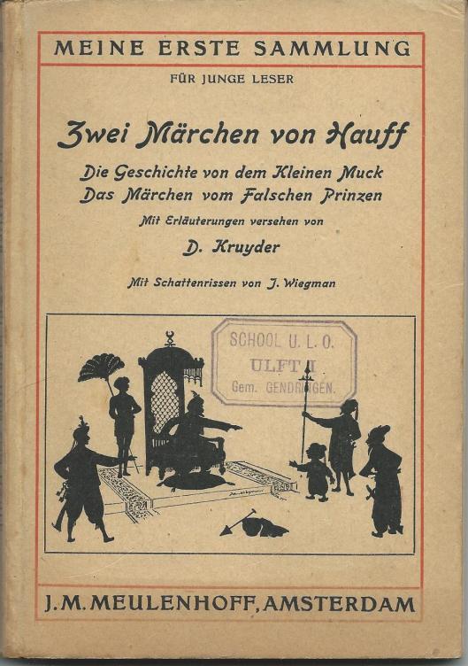 Jan Wiegman: ill. bij 'Zwei Märchen von Hauff.