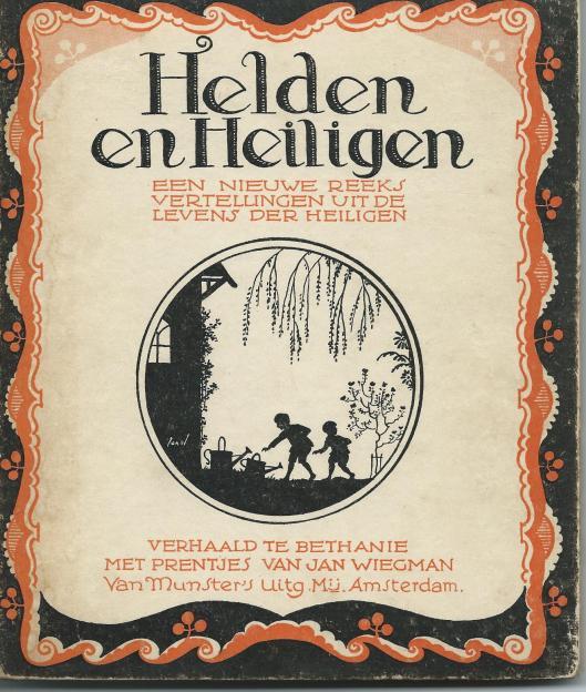 Jan Wiegman, ill. bij 'Helden en Heiligen', Bethanië, Bloemendaal.