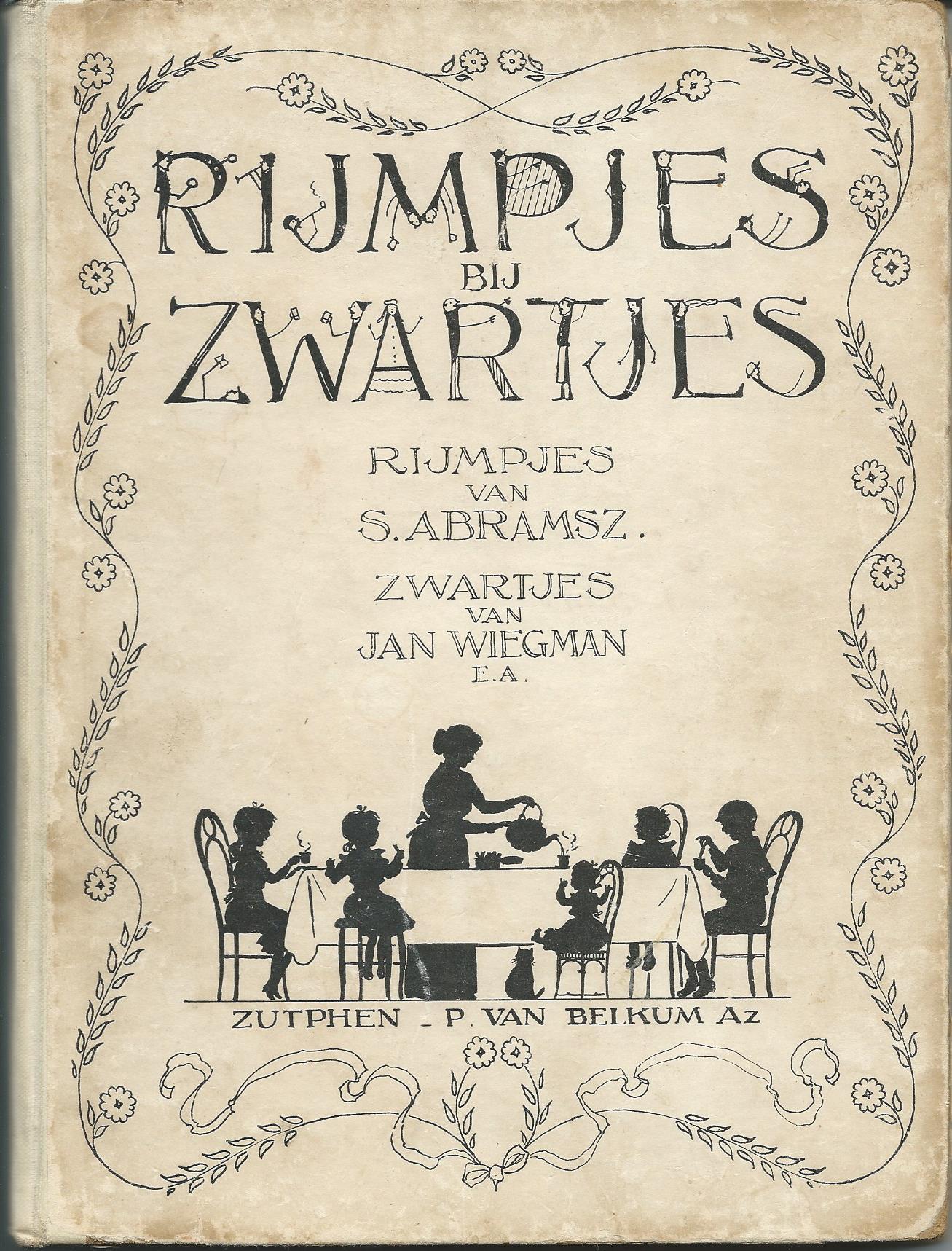 Ill. van Jan Wiegman bij 'Rijmpjes en Zwartjes'