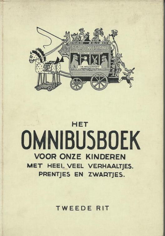Voorzijde van: Het Omnibusboek. Tweede rit.