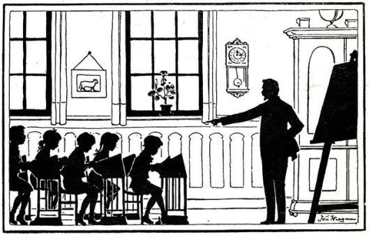 Jan Wiegman: de schoolklas