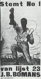 Affiche: Stemt No. 1 van lijst 23: J.B.Bomans (Edward Krabbendam)