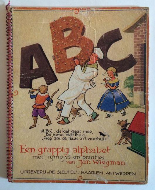 Jan Wiegman: ABC een grappig alphabet. 1949