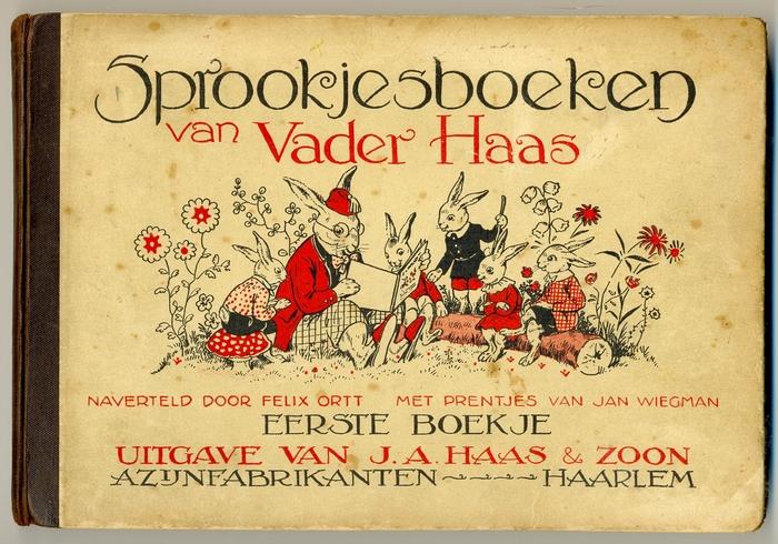 Jan Wiegman, 1 van de 7 sprookjesboeken van Vader Haas
