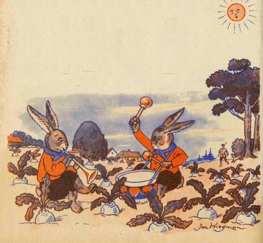 Illustratie uit: Onze oude rijmpjes en versjes, door Jan Wiegman.