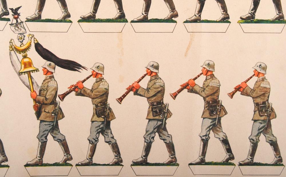 Uit knipplaat De Nederlanden van 1845; door Jan Wiegman