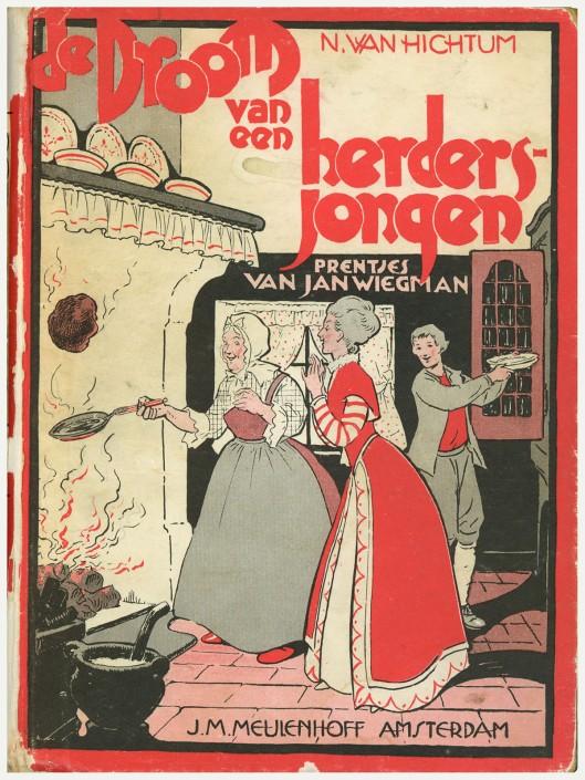 Jan Wiegman, ill. bij 'De droom van een herdersjongen'.