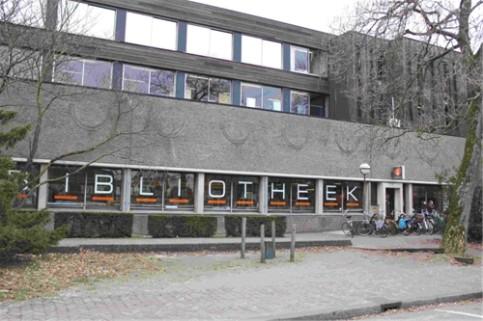 De openbare bibliotheek van Amersfoort was van 1975 tot 2013 gevestigd in 'de Zonnehof'