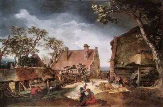 Abraham Bloemaert (1566-1651): De verloren zoon, 1615. Leamington Museum