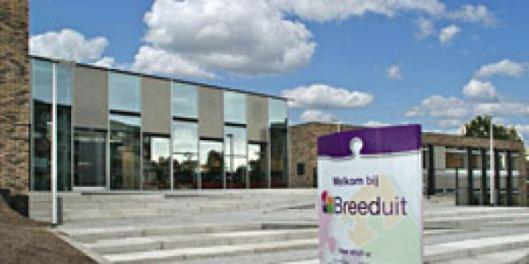 Breeduit, met jeugdbibliotheek in Bussum.