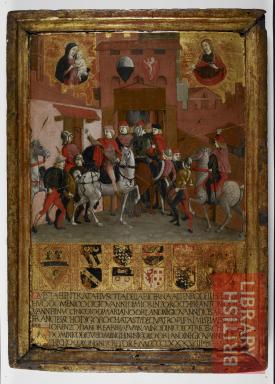 Guidoccio Cozzarelli, Biccherna paneel uit Siena (1488)