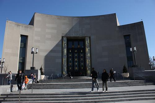 Hoofdgebouw van de Brooklyn Public Library