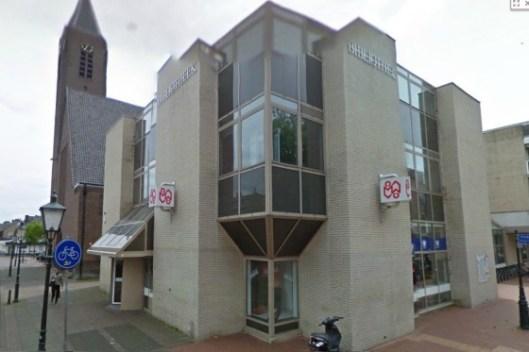 DE huidige bibliotheek Naarden Bussum