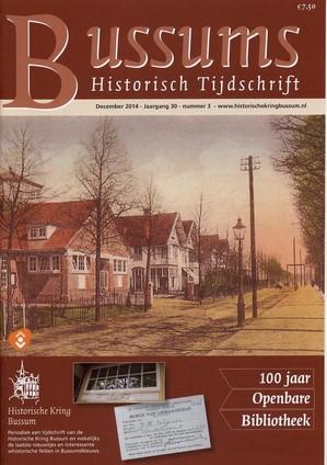Bij gelegenheid van 100 jaar openbare bibliotheek Naarden-Bussum is het decembernummer 2014 van Bussums Historisch Tijdschrift gewijd aan de geschiedenis van deze openbare bibliotheekorganisatioe.