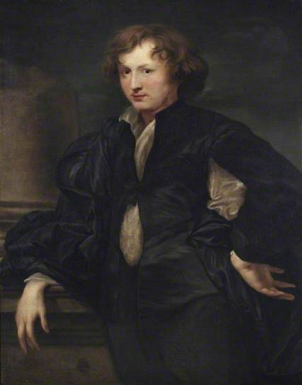 Zelfportret Anthony van Dijck (1599-1641). Art Gallery & Museum Royal Leamington Spa