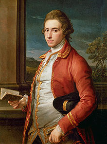 Sir William FitzHerbert, 1st Baronet of Tissington (1748-1791). Portret door Pompeo Batoni, circa 1768