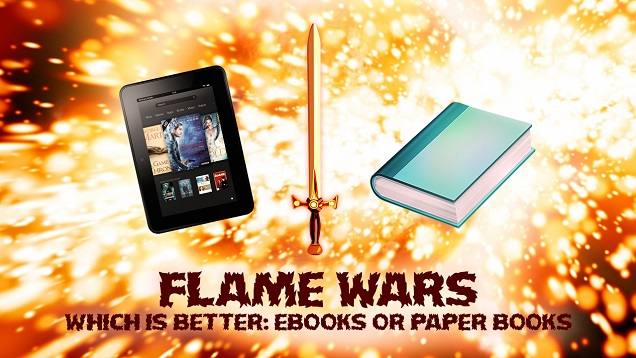 Which is Better: Ebooks or Paper Books? (Kinja)