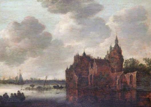 Nabij Haarlem. Naar Jan van Goyen. Leamington Spa Art Gallery & Museum