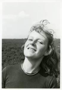 Marian Heij rond haar twintigste (foto Antonie Willemsens)