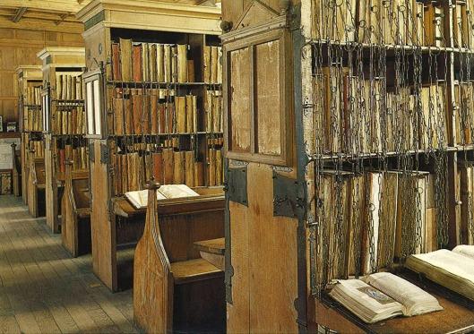 Kettingbibliotheek in Hereford