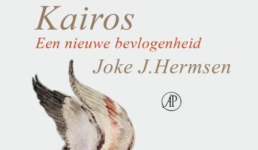 De filosofe Joke Hernsen is schrijfster van het boek 'Kairos een nieuwe bevlogenheid'.