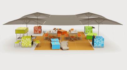 Ontwerp van de Ideas Boxes; een mobiele mediatheek