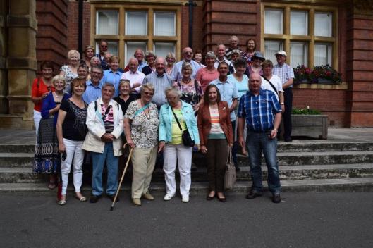 Afscheid voor het stadhuis van Royal Leamington Spa