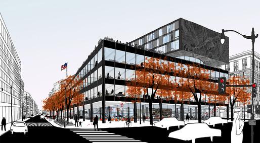 Ontwerp van Mecanoo voor een vernieuwd bibliotheekgebouw