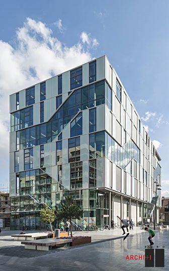 Het nieuwe kenniscentrum ARhus in Roeselare, West-Vlaanderen