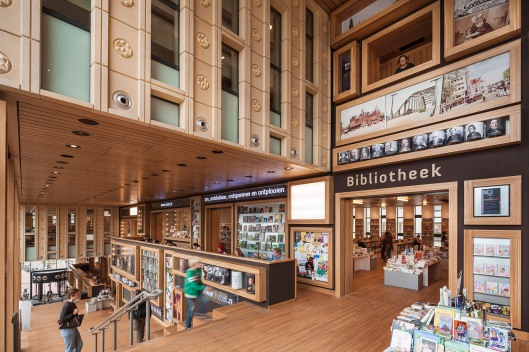 Bibliotheek Arnhem in cultuurcentrum Rozet