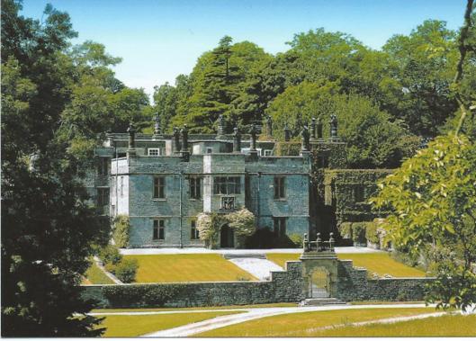 Achterzijde van Tissington Hall