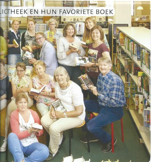 Vervolg van: de medewerkers van de bibliotheek Maarden-Bussum in 2014.en hun favoriete boek.
